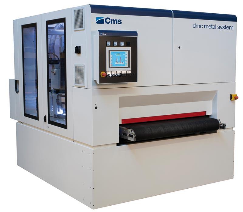 CMS Metal Finishing and Deburring Machine - DMC Metal System