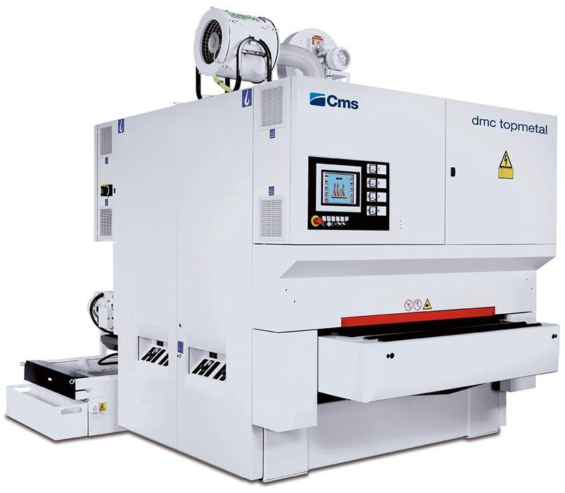 CMS Metal Finishing and Deburring Machine - DMC Topmetal