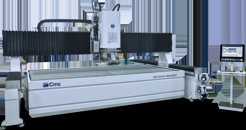CMS Tecnocut Aquatec Water Jet Metal Cutting Machine