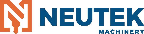 Neutek Machinery Logo - Full Color - Orange and Blue