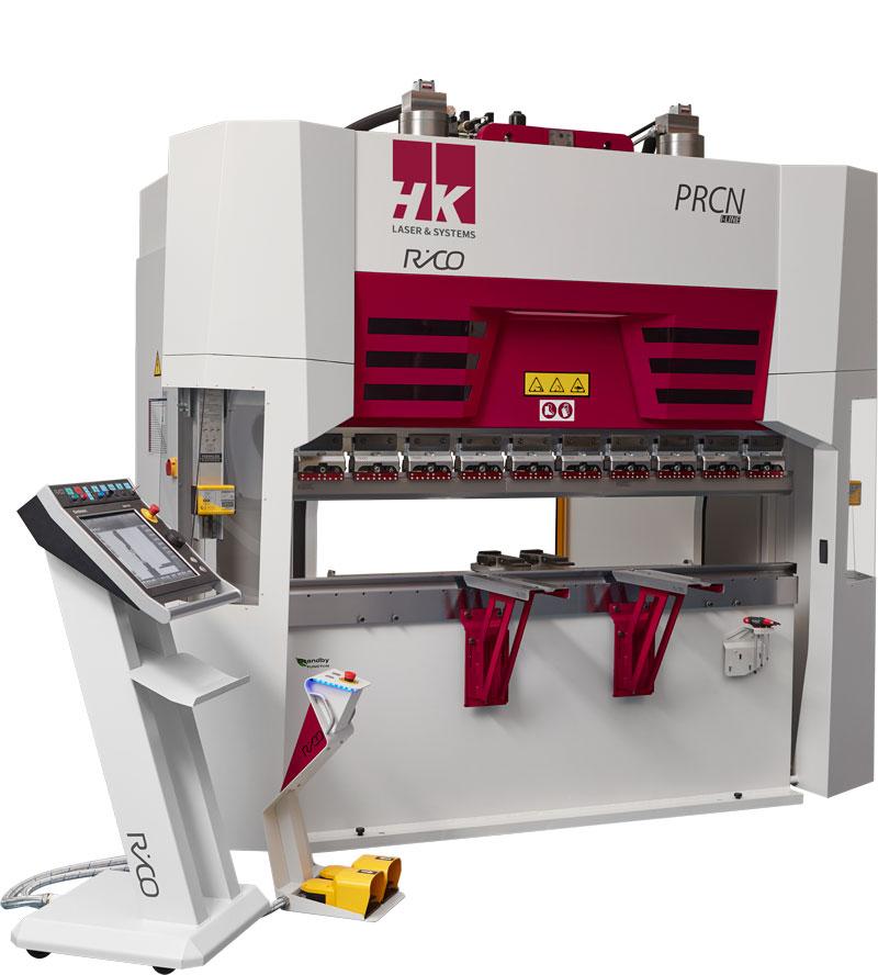 Rico-Hydraulic-Press-Brake-Angled